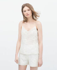 Zara Waist Length Lace Blouses for Women
