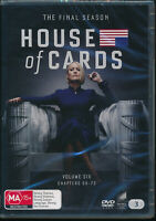 House of Cards The Final Season DVD NEW Region 4