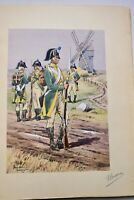 chasseurs a pied L'armée française a travers les âges ex. n°1 sur Japon