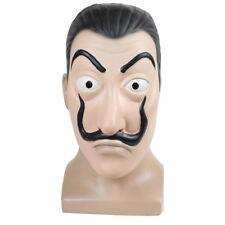 Latex Masque Paper House La Casa De Papel Salvador Dali Face Cosplay Latex Mask