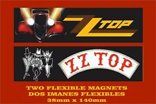 ZZ Top Eliminator Texicali 2 IMANES 2 MAGNETS