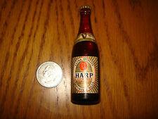 Rare Vintage Mini Harp Lager Beer Bottle New York Worlds Fair 1964-1965 LAST ONE