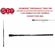 DIAMOND ORIGINAL SRH-789 ANTENNE TÉLESCOPIQUE POUR PORTABLES 20~80,5 cm ¼ (95-3