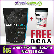 WPI - WHEY PROTEIN ISOLATE - WPI PURE - NATURAL - 6KG