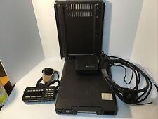 Motorola Syntor X9000 Vhf Radio Bundle Unit Bracket Cable Mic Untested