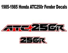 Fender decals for a 85-86 Honda ATC 250r 3-wheeler    ATC250r ATC 250r