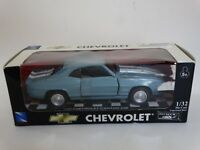 New Ray 1969 Chevy Camaro Z-28 1:32 Scale Diecast Model Muscle Car NewRay Blue