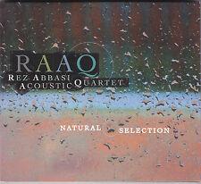 REZ ABBASI ACOUSTIC QUARTET - natural selection CD