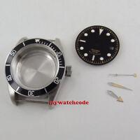 41mm sapphire glass date Watch Case + dial + hand fit ETA 2824 2836 MOVEMENT