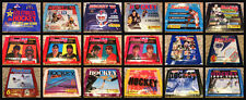 1987-2000 Panini  NHL Empty Sticker Package Lot of 18 Hockey Empty No Stickers
