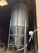 More details for feed bin silo and unloading auger