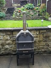 Outdoor Pizza Oven, Charcoal BBQ Smoker Good condition. No reserve !!