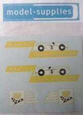 """Matchbox M6b Racing car transporter """"BP racing"""" reproduction decals"""