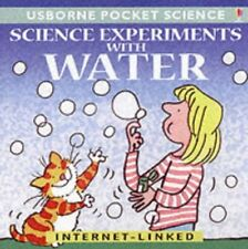 (Good)-Science Experiments with Water (Usborne Pocket Science) (Paperback)-Rosen