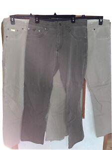 Three Pairs Of Mens Kuhl Revolvr Pants 33 X 32 Lot