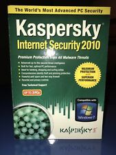 Kaspersky Internet Security 2010 Up To 3PCs