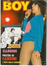 BOY Carrier n. 8/79 N.Cassini,P.Smith,C.Baglioni...