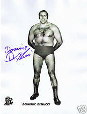 Dominic Domenic DeNucci signed autographed photo WWWF