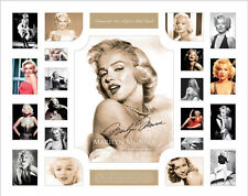 New Marilyn Monroe Signed Limited Edition Oversized Memorabilia Framed