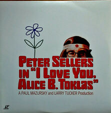 I LOVE YOU, ALICE B. TOKLAS - PETER SELLERS, LEIGH TAYLOR YOUNG - LASER DISC