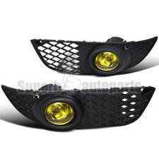 2008-2012 Mitsubishi Lancer DE ES Fog Lights W/Switch+Bracket Yellow