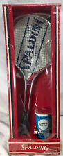 🔥 Vintage Spalding Pancho Gonzales tennis Racket ,Balls & Cover Unopened Set 🔥