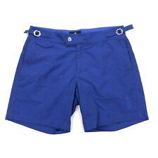 Kent & Curwen Men's Swim Trunks Shorts Bathing Suit Polka Dot Blue • Size 32