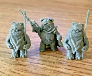 Ewok Squad 3 Pack - Leader With Cape And 2 Spear Units (Custom Star Wars Legion)