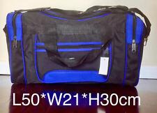 SPORT BAG, TRAVEL BAG, GYME BAG #0050 BLACK/BLUE