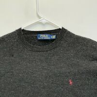 Ralph Lauren Blue Label Men's Crew Neck Pullover Wool Cashmere Sweater Medium