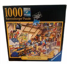 Grandma`S Attic by Michael Herring 1000 Piece Ravensburger Jigsaw Puzzle 27x20