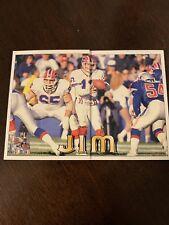 Jim Kelly 1994 Pacific Triple Folder Card Buffalo Bills #3
