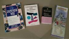 Japanese culture & language books: The Japanese Way, Communicating, dictionary