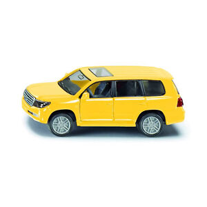 Siku 1440 Toyota Landcruiser Yellow (Blister Pack) Model Car New! °