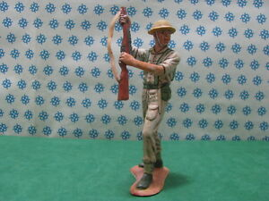 8° Army English WWII Painted by Hand - Hong Kong 15 CM