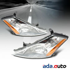 For 2003-2006 Nissan Murano Left Right Side Headlights Pair Front Lamps