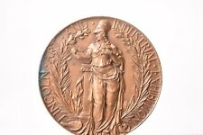 Prize medal photography in bronze. Lincoln art and industrial exhibition 1914