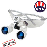 Best Dental Surgical Medical Binocular Loupes 3.5X 420mm Optical Glass Loupe