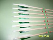 New listing Kids  start up wood arrows ( bows under 30 #).