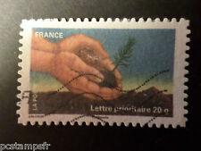 FRANCE 2011, timbre AUTOADHESIF 526, FETE TIMBRE, ARBRE, oblitéré, VF STAMP