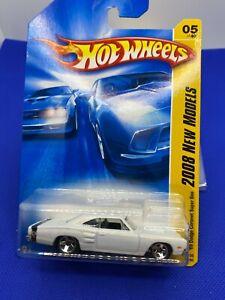 Hot Wheels 2008 New Models 1969 Dodge Coronet Super Bee  White