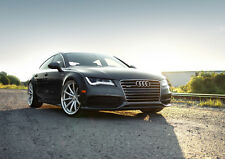 AUDI A7 NEW A1 CANVAS GICLEE ART PRINT POSTER