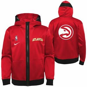 Nike NBA Youth (8-20) Atlanta Hawks Lightweight Hooded Full Zip Jacket