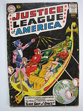 Justice League of America #3 (Feb-Mar 1961, DC) [VG 4.0] first Kanjar Ro