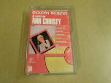 MUSIC CASSETTE / ANN CHRISTY - GOUDEN TROEVEN DE 14 BESTE VAN ANN CHRISTY