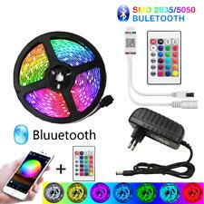 Bande LED 5050 Ruban étanche lumineux Flexible Télécommande Bluetooth 5M-30M