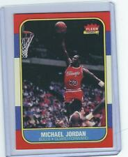 100 ct 1986 FLEER MICHAEL JORDAN ROOKIE RC CARD REPRINT #57 NICE CARD