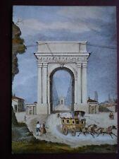 POSTCARD GERMANY BERN MAILCOACH 1840