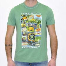 T-shirt uomo MCS Marlboro Classics con stampa manica corta 3589