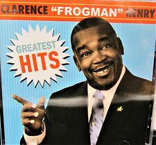 """Greatest Hits by Clarence """"Frogman"""" Henry NEW! CD. NEW ORLEANS R&B bLUES, PIANO"""